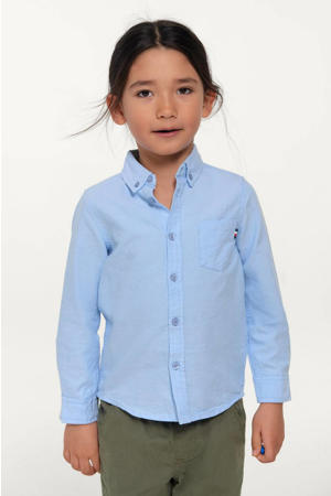 overhemd David lichtblauw