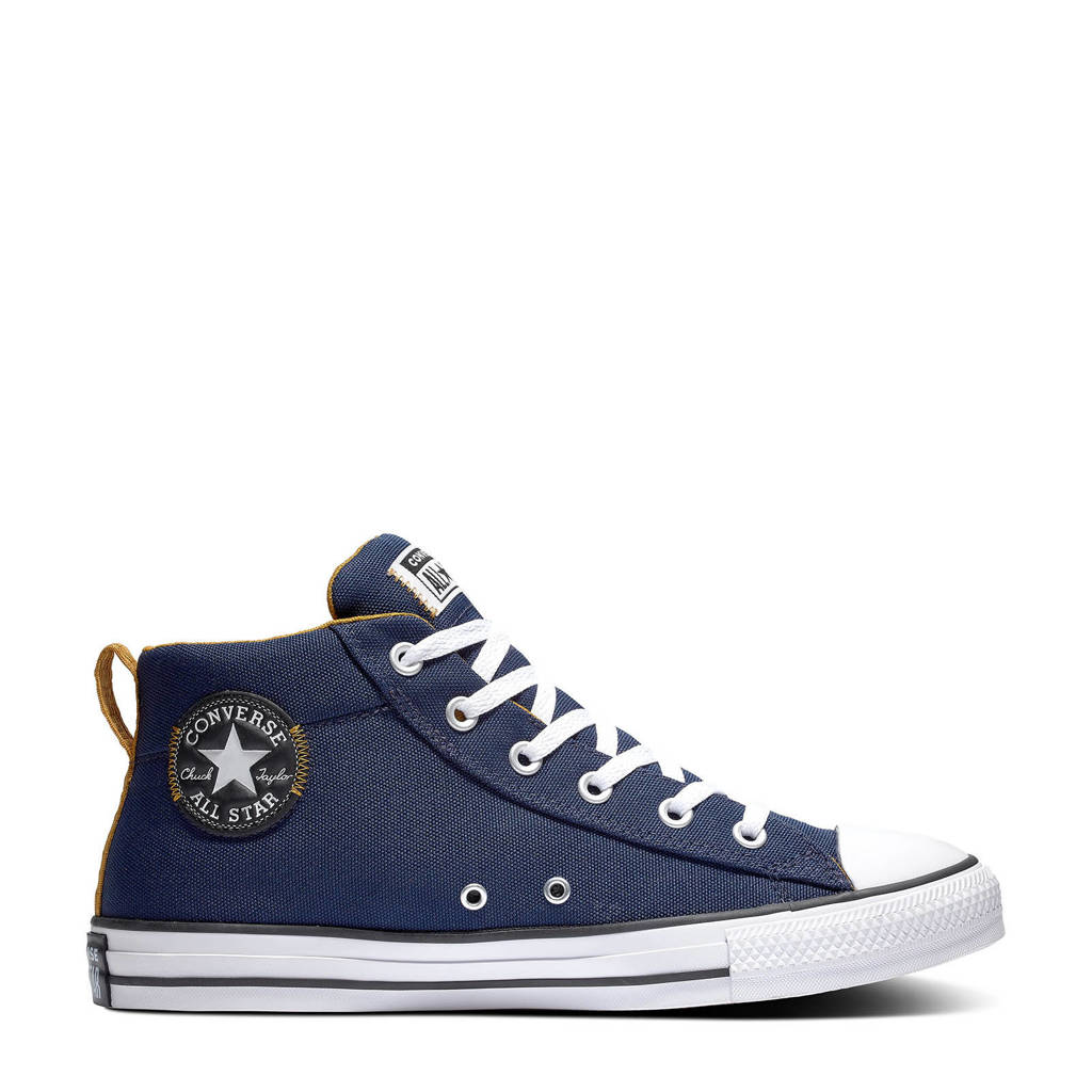 Converse Chuck Taylor All Star  sneakers  donkerblauw/beige/wit, Donkerblauw/beige/wit