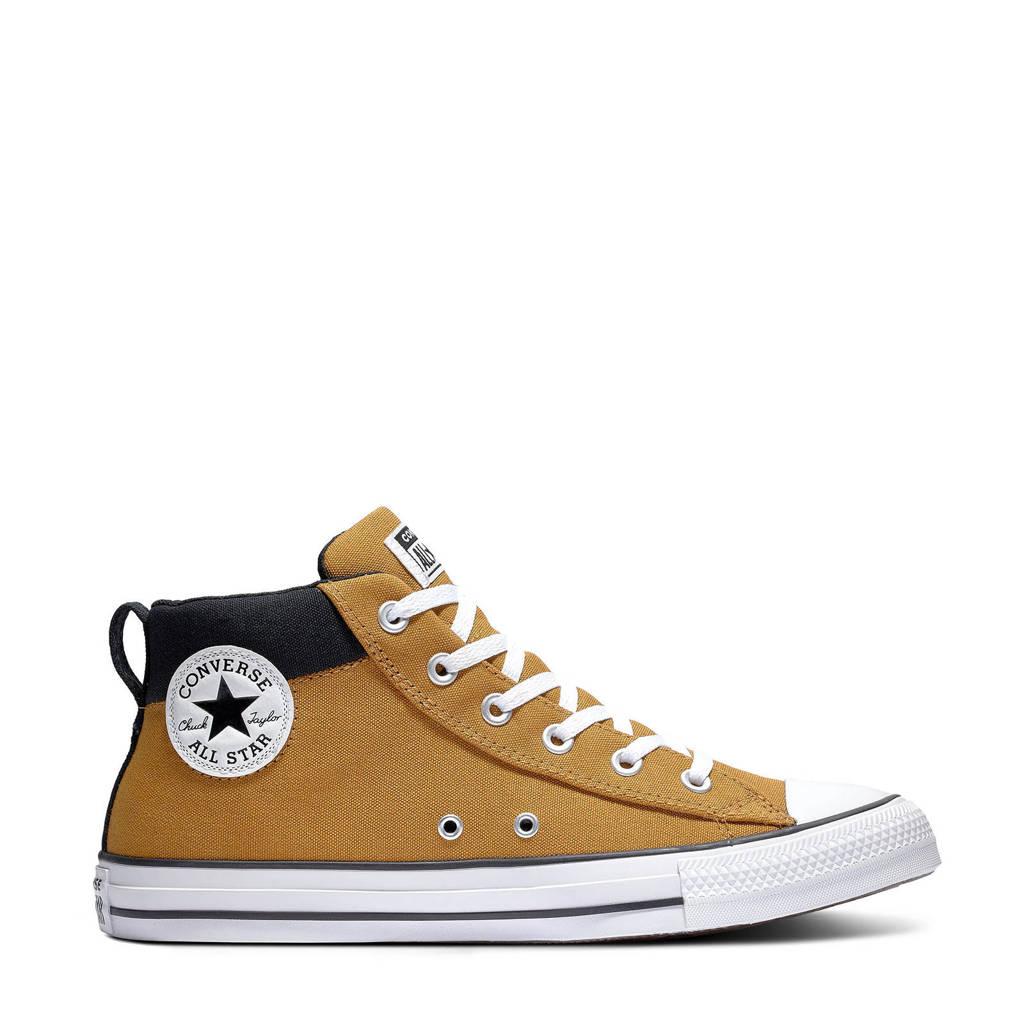 Converse Chuck Taylor All Star  sneakers  oker/zwart/wit, Oker/zwart/wit
