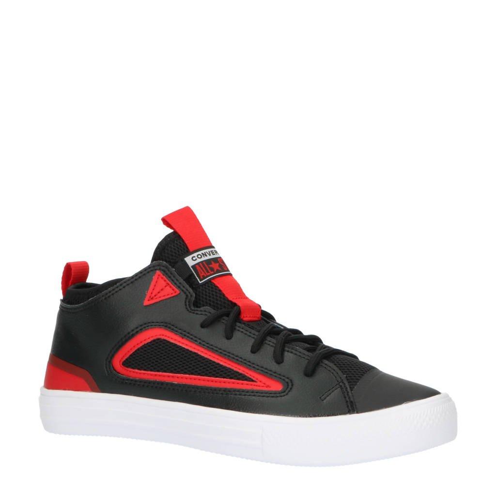 Converse Chuck Taylor All Star Ultra OX sneakers  zwart/rood/wit, Zwart/rood/wit