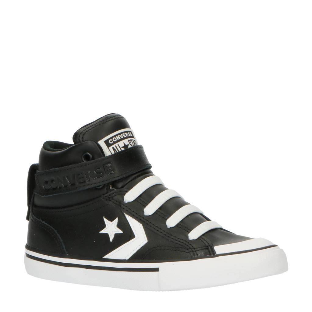 Converse Pro Blaze Strap Hi sneakers zwart/wit, Zwart/wit