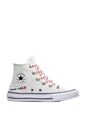Chuck Taylor All Star HI sneakers  wit/rood/zwart