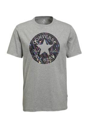 Chuck Taylor T-shirt grijs melange
