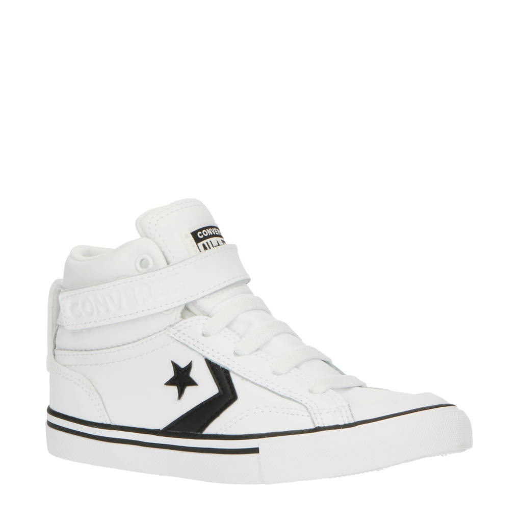 Converse Pro Blaze Strap Hi sneakers wit/zwart, Wit/zwart