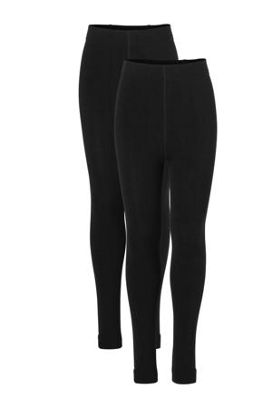 thermo legging - set van 2 zwart