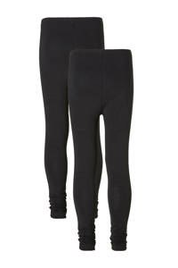 whkmp's own legging - set van 2 zwart, Zwart