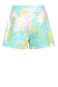 Champion tie-dyesweatshort wit/multicolor