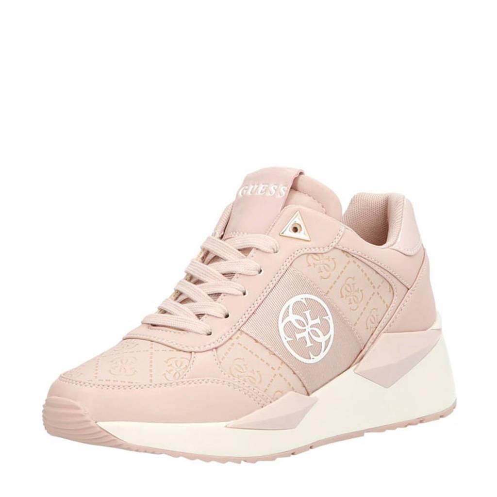 GUESS Tesha  sneakers roze, Roze/wit