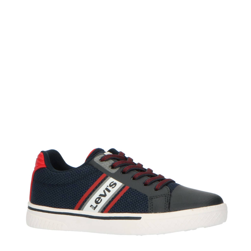 Levi's Kids Future K  sneakers blauw, Blauw/rood