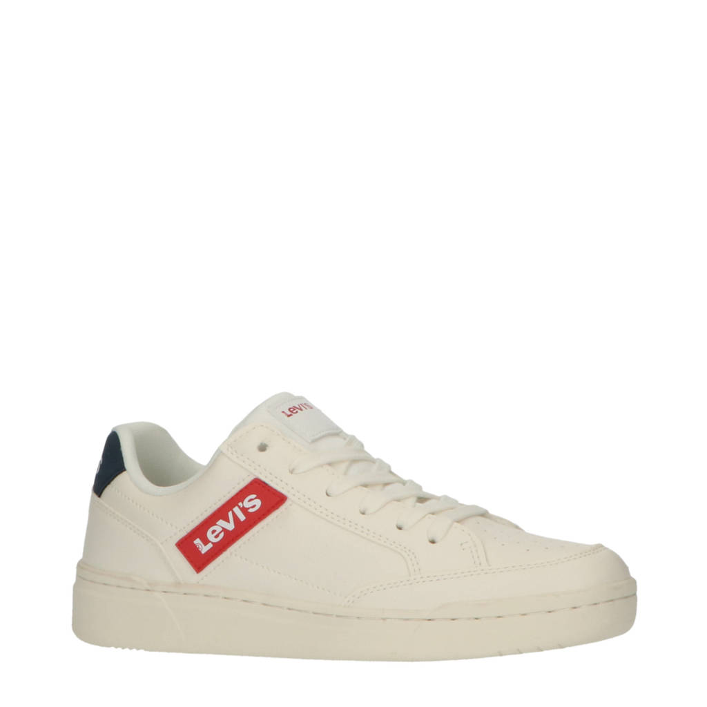 Levi's Kids Fremont T  sneakers wit, Wit/blauw/rood