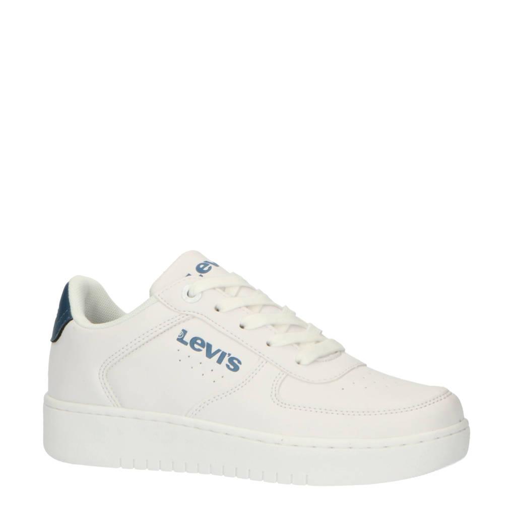 Levi's Kids New Union T sneakers wit/blauw, Wit/blauw
