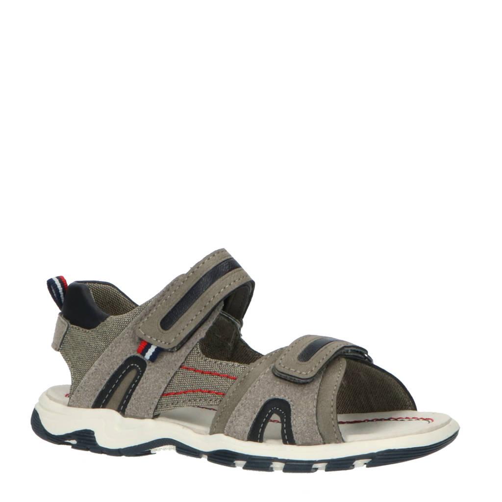 Levi's Kids Davenport  sandalen grijs/blauw, Grijs/blauw