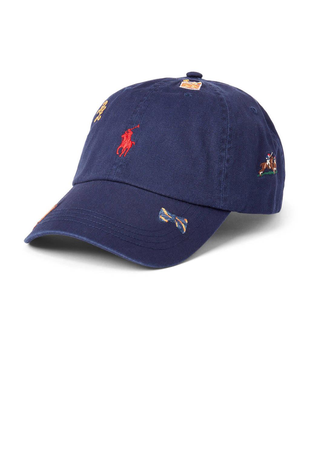 Ralph Lauren pet CLS Sport Cap donkerblauw, Donkerblauw