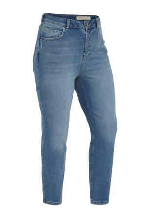 high waist mom jeans DEMI light denim