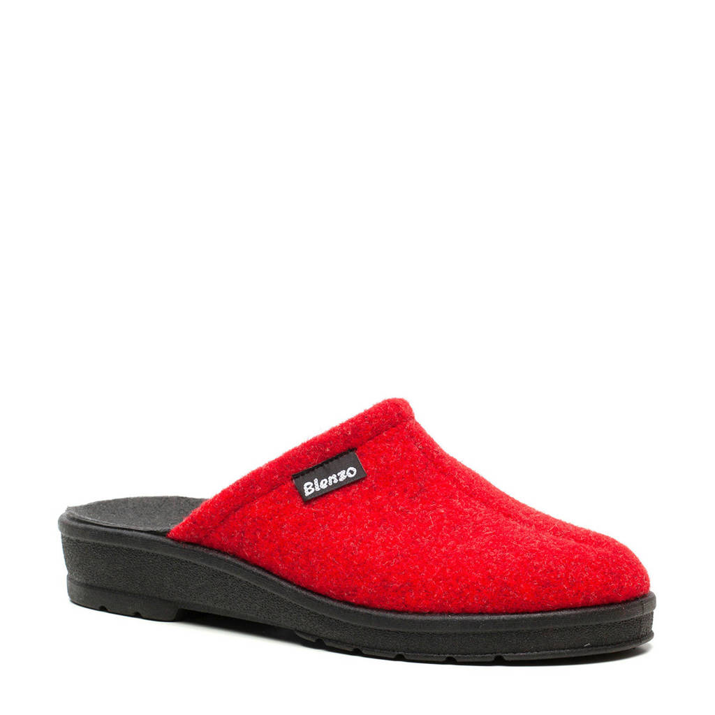 Scapino Blenzo pantoffels rood, Rood