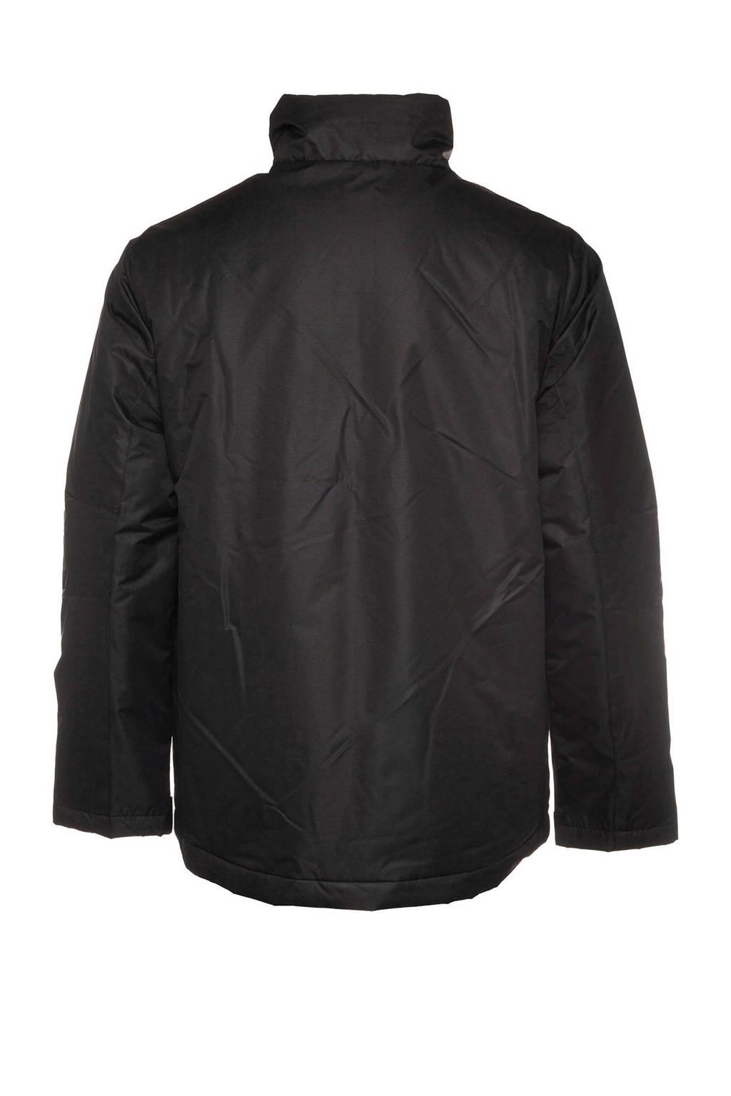 Mountain Peak outdoor jas zwart, Zwart