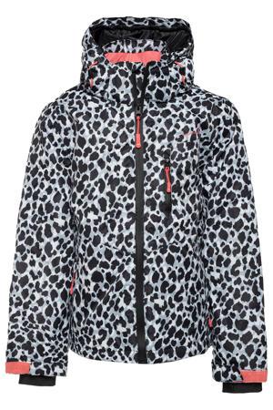 ski-jack lichtblauw/wit/zwart