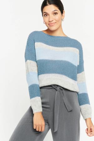 gestreepte trui blauw