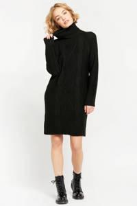 LOLALIZA jurk zwart, Zwart