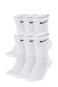 Nike sokken Everyday Crush- set van 6 wit, Wit