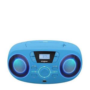 CD61BLUSB draagbare radio CD speler