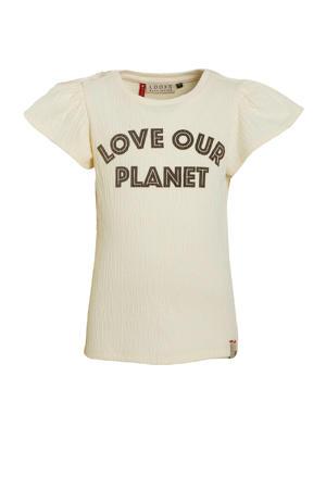 T-shirt met tekst off white