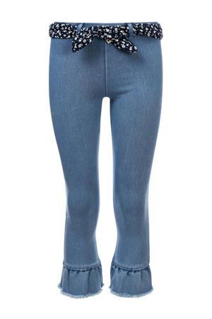 slim fit broek lichtblauw
