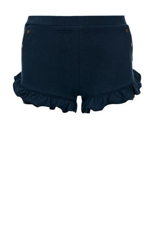 slim fit short donkerblauw