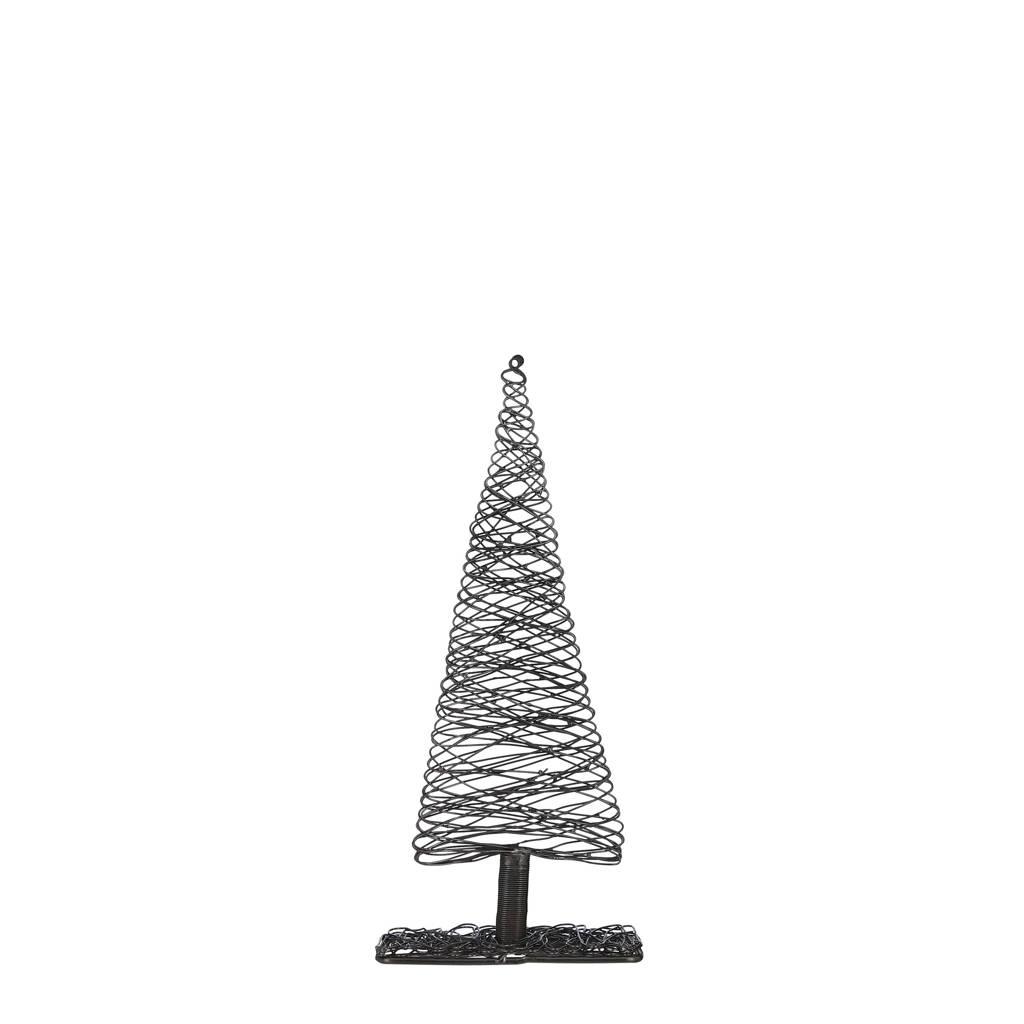 House of Seasons kerstdecoratie kerstboom, Zwart