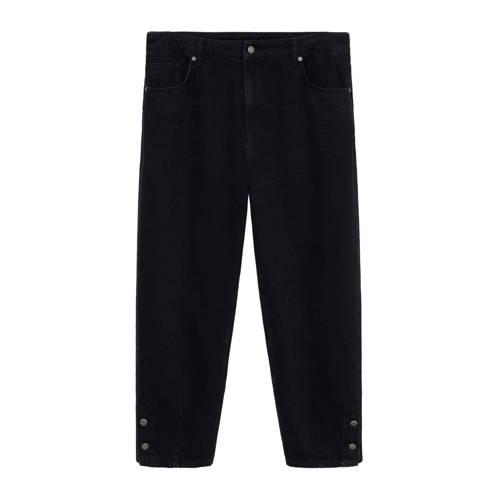 Violeta by Mango mom jeans donkergrijs