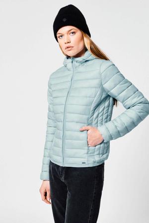 gewatteerde jas Jacky Hood lichtblauw