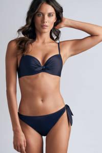 marlies dekkers strik bikinibroekje Lotus donkerblauw, Donkerblauw