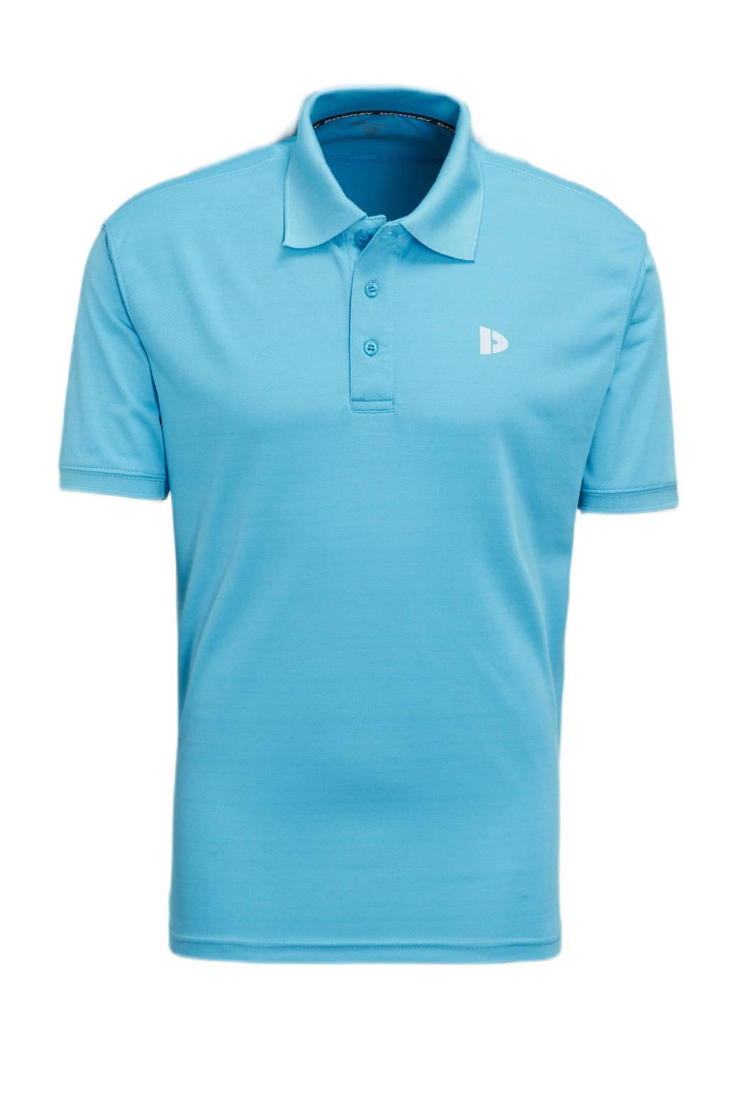 Donnay   sportpolo lichtblauw, Lichtblauw