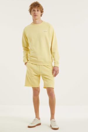 sweater van biologisch katoen lichtbeige