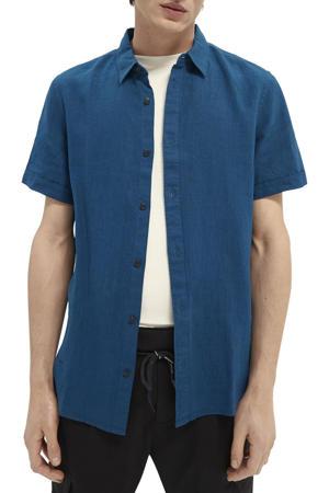 regular fit overhemd petrol