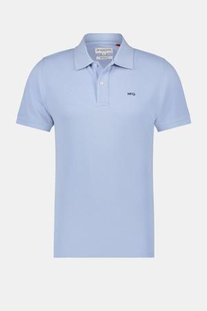regular fit polo met logo blauw