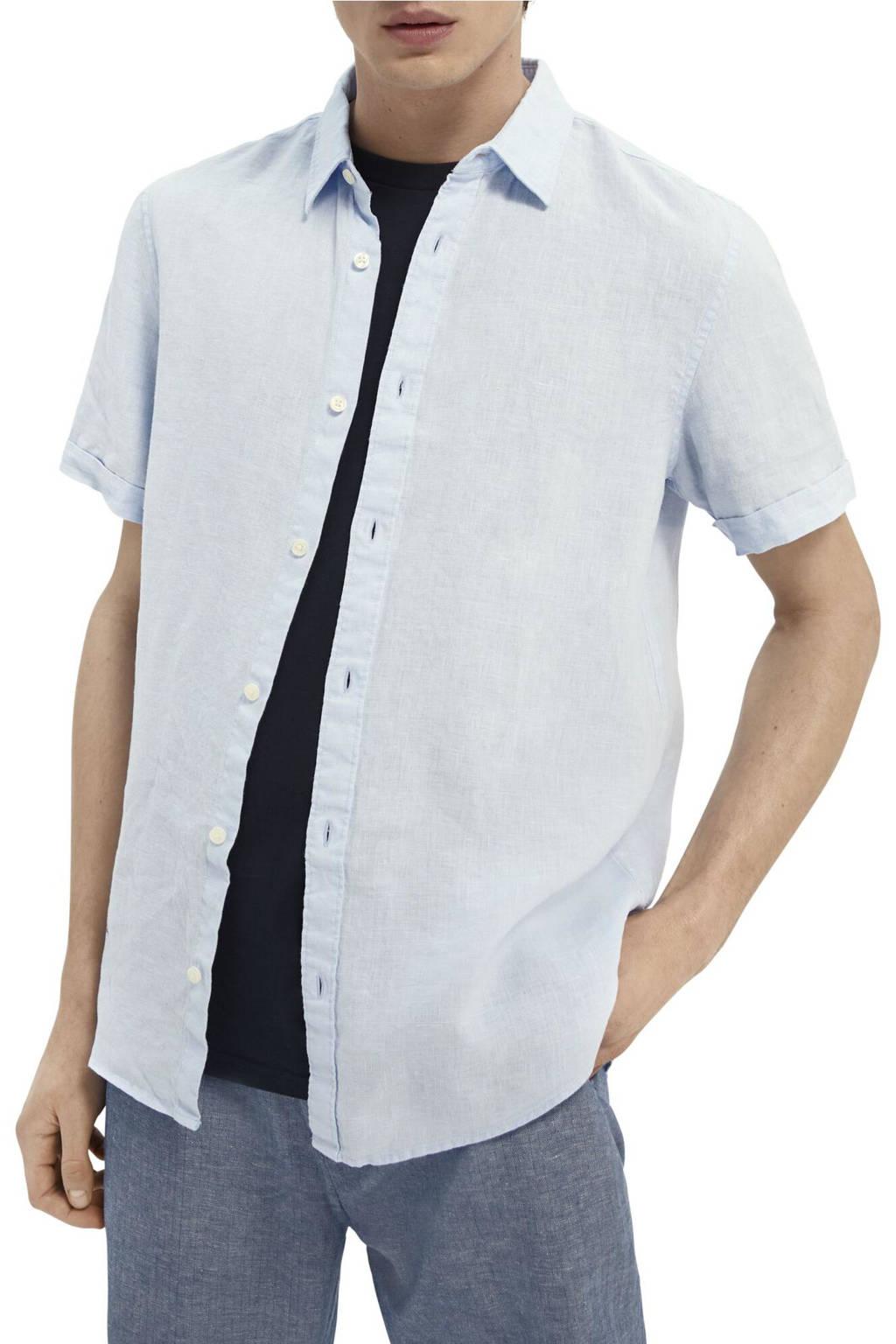 Scotch & Soda regular fit overhemd lichtblauw, Lichtblauw