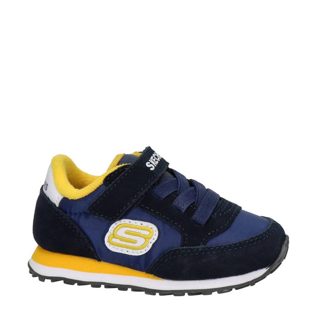 Skechers Gorvox  sneakers donkerblauw/geel, Donkerblauw/geel