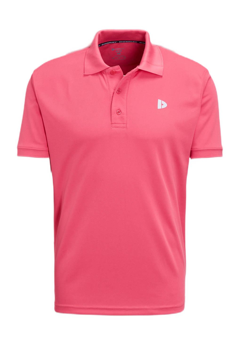 Donnay   sportpolo roze, Roze