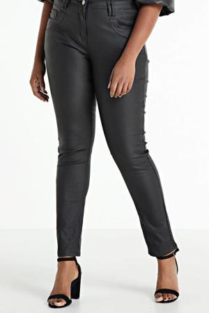 coated skinny broek CURVE zwart