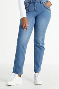 Zhenzi high waist straight fit jeans Salsa light denim, Light denim