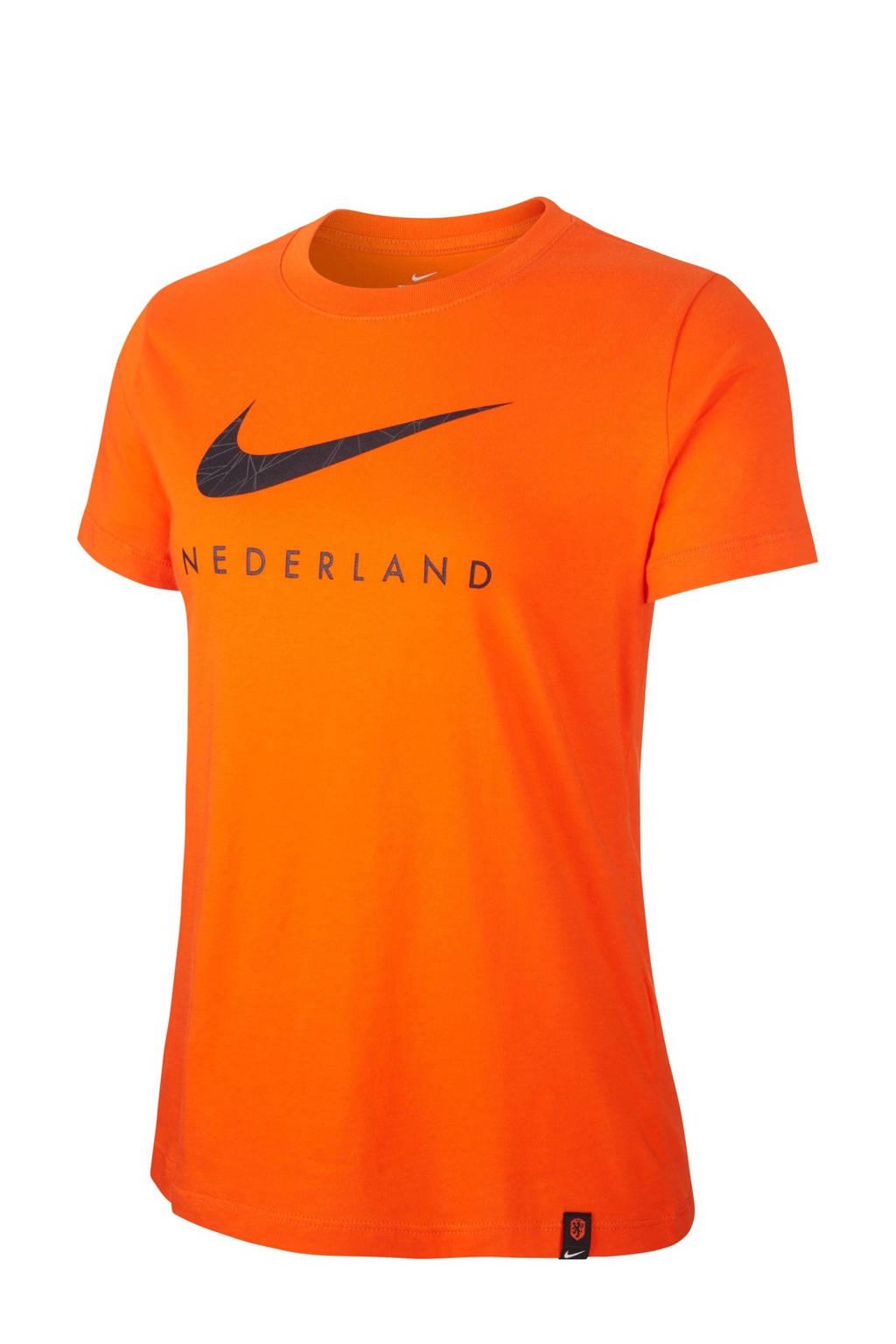 Nike KNVB NK-voetbalshirt oranje, Oranje