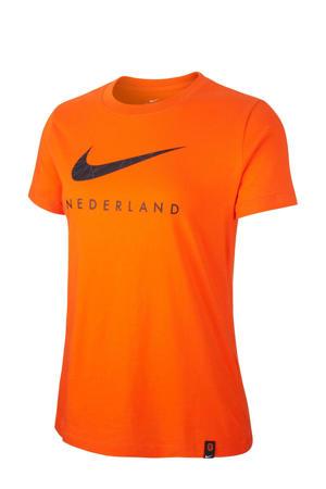 KNVB NK-voetbalshirt oranje