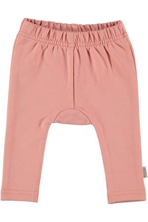 B.E.S.S baby regular fit broek roze