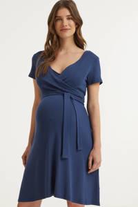 LOVE2WAIT zwangerschaps- en voedingsjurk blauw, Blauw