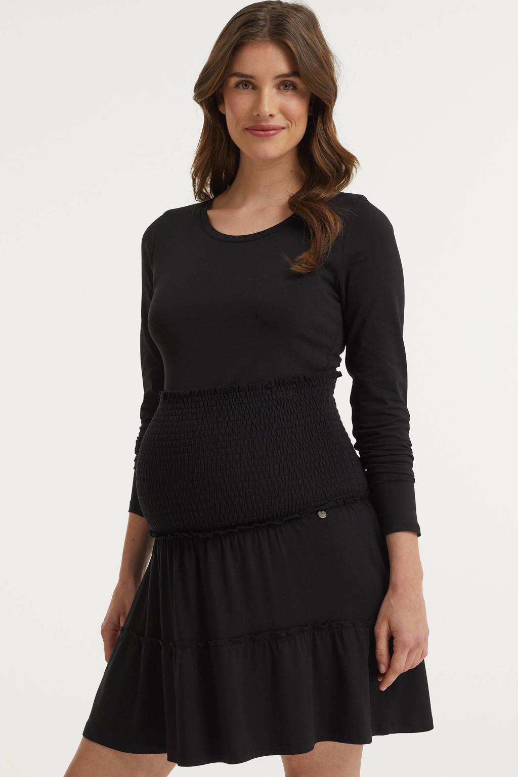 LOVE2WAIT zwangerschapsrok zwart, Zwart