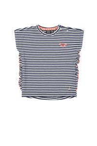 Babyface gestreept T-shirt marine, Marine