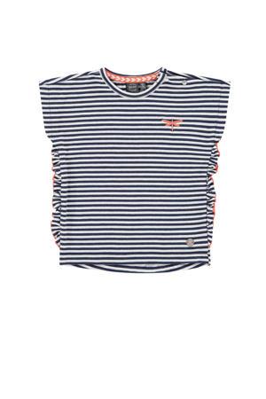 gestreept T-shirt marine