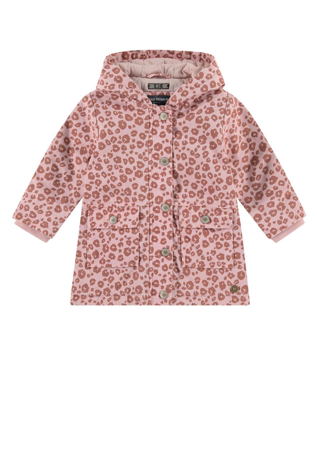 Babyface  zomerjas met all over print roze/oudroze, Roze/oudroze