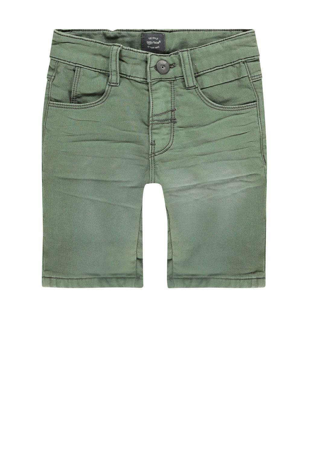 Babyface jeans bermuda donkergroen, Donkergroen